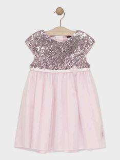 Baby rose Dress TYACETTE / 20E2PF15ROB307