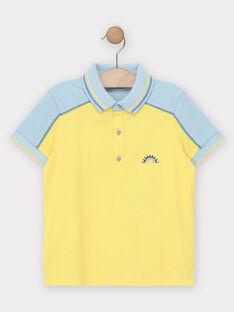 Golden yellow Polo shirt TIFLIAGE / 20E3PGO2POL106