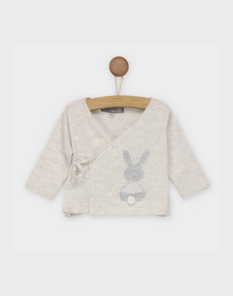 Heathered off white Baby blouse RYAMAL / 19E0NM11BTR006
