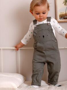 Grey overalls baby boy ZAAKON / 21E1BG71SAL604