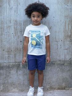 Bermuda shorts navy blue child ZEMOLAGE / 21E3PGO3BER216
