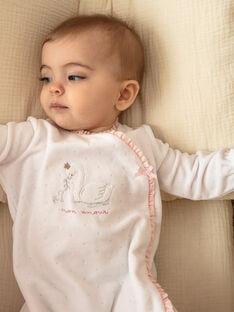 White romper baby girl ZOELIA_B / 21E0NFG1GRE000