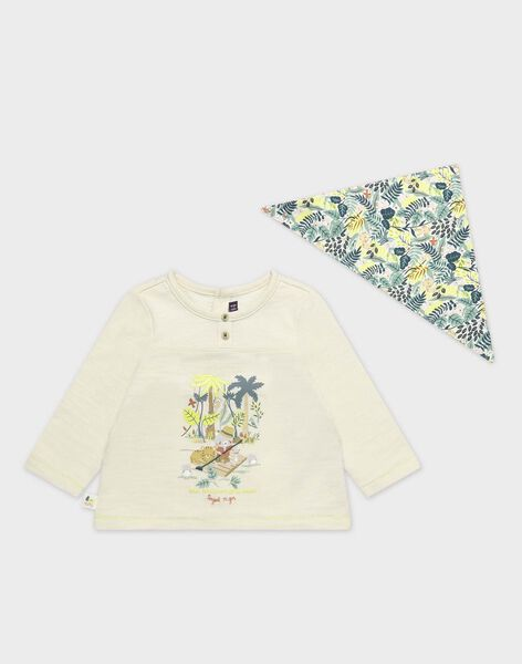 off white T-shirt TAAIME / 20E1BGB1TML632