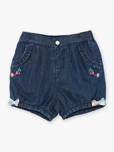 Dark blue denim shorts ZACHARLINE / 21E1BFI1SHOK005