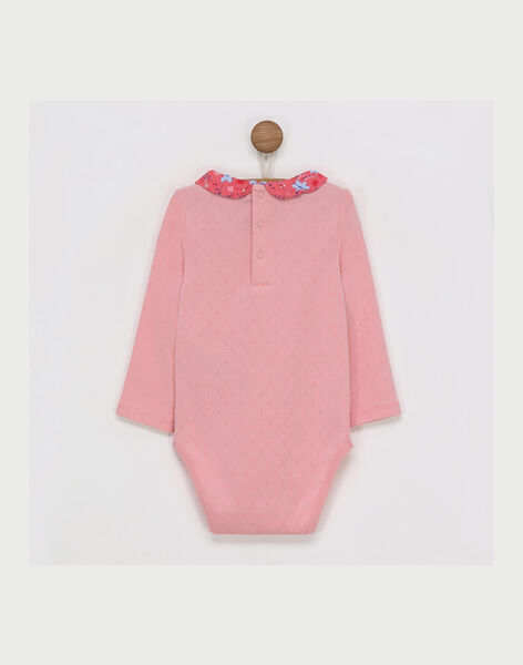 Peach Body suit RABABOU / 19E1BF21BOD413
