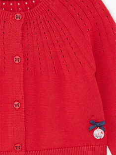 Red CARDIGAN ZAFANNY / 21E1BFB1CAR050