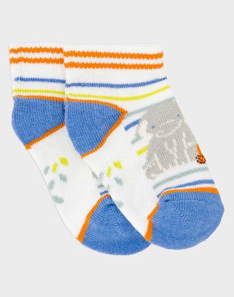 Off white Low socks RASWAN / 19E4BGM1SOB001