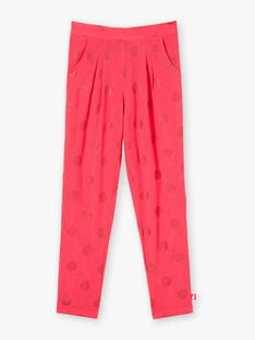 Red PANTS ZUPATETTE 2 / 21E2PFV1PANF510