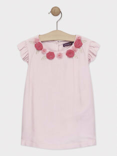Baby rose Blouse TYAMETTE / 20E2PF12CHE307