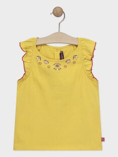 Yellow tank top TAEDUETTE 2 / 20E2PFM1DEBB117