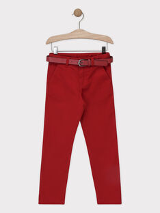 Burgundy pants SIREGULAGE / 19H3PGP2PAN719