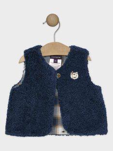 Blue Sleeveless cardigan SARONNY / 19H1BGI1CSMC235