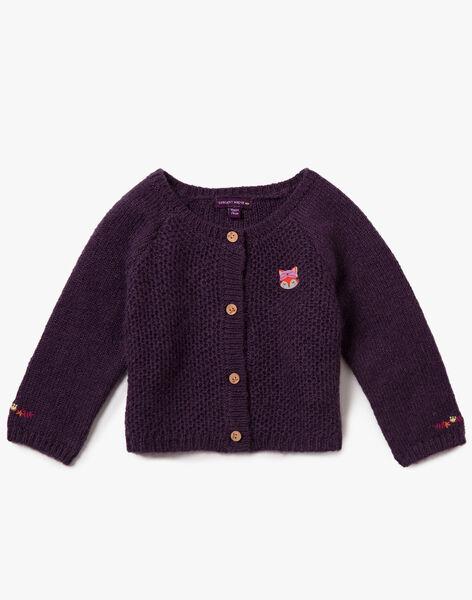 Purple CARDIGAN VAMARTINE / 20H1BFU1CAR711