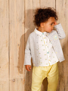 Lemon yellow pants baby boy ZAMELVIN / 21E1BGO1PANB104