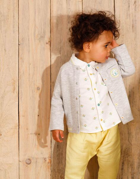 Lemon yellow pants baby boy ZAMELVIN / 21E1BGO1PANB104