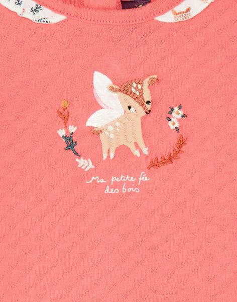 Pink T-SHIRT VAKIKI / 20H1BFR1TMLD324