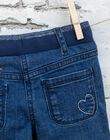 Girl's medium denim jeans BROGINETTE2 / 21H2PFB1JEAP274