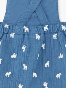 Baby boy blue rompers and overalls TAREDORE / 20E1BGQ1BARC235