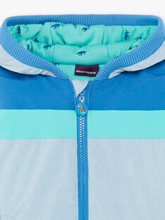 Hooded jacket colorblock ZANZITAGE / 21E3PGM2BLO721