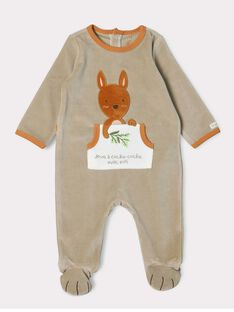 Light brown Romper SERICKY / 19H5BGK1GRE803