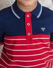 Child boy polo shirt ZAZPLAGE3 / 21E3PGK2POL070