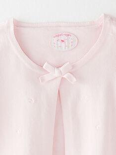 Clear pink Cardigan TYMOETTEEX / 20E2PFJ1CAR321