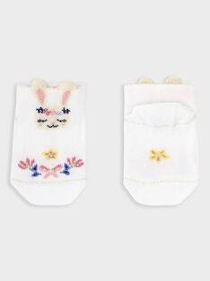 White Low socks TAOLISA / 20E4BFO1SOB000