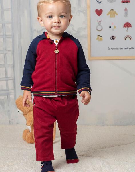 Baby Boy Red Pants BAFAEL / 21H1BG52PAN503