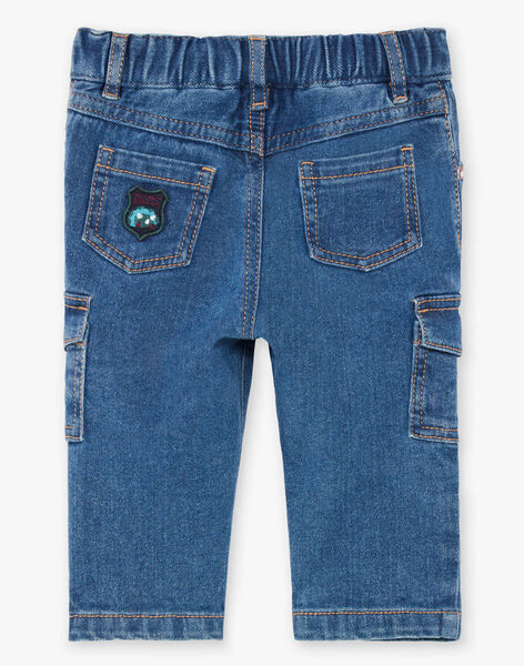 Baby boy multi-pocket jeans BAJEAN / 21H1BG91JEAP269