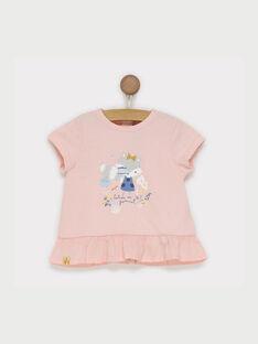 Pale rose T-shirt RADELPHINE / 19E1BF61TMC301
