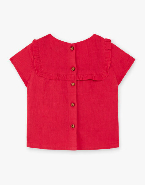 Red and yellow blouse TASOPHIE / 20E1BFQ1CHEF510