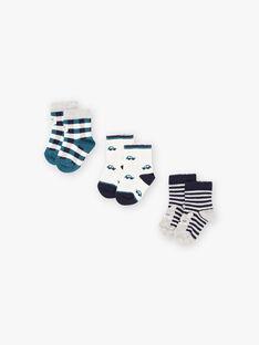 Set of assorted socks for baby boy BROBOB / 21H4BGB4LC3070