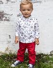 Baby boy's plain red pants BABROOK / 21H1BG11PAN050