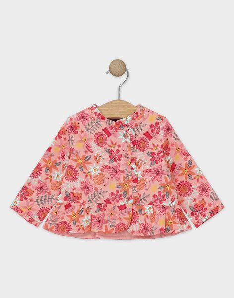 Baby rose Blouse TABONNY / 20E1BFB2CHE307