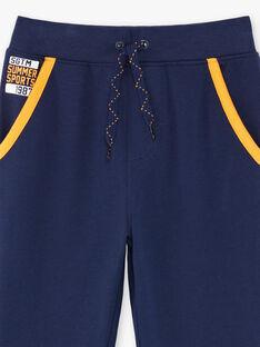 Navy blue jogging suit ZEJOGAGE2 / 21E3PGK1JGB070