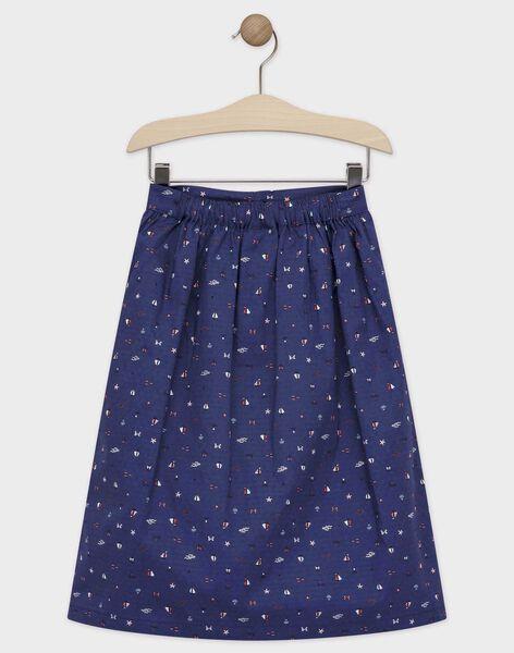 Navy Skirt TUIJAETTE / 20E2PFW1JUP070