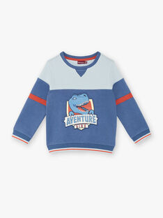 Sweatshirt blue child boy ZECRAGE / 21E3PGB2SWEC230