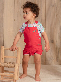Short red overalls ZAKENZO / 21E1BGJ2SAC050