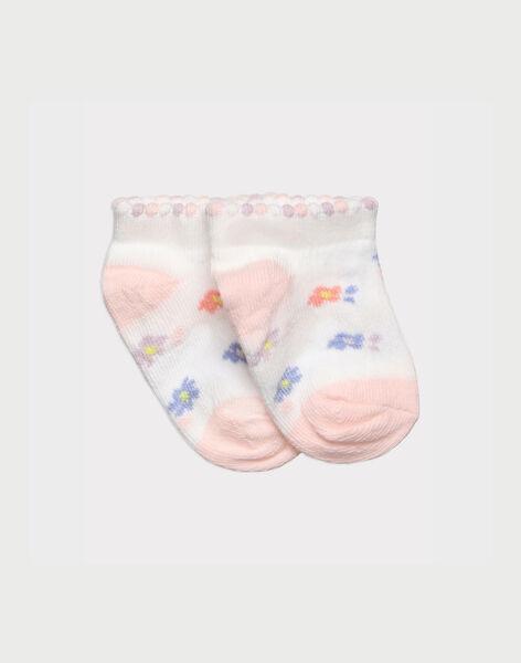 Off white Low socks RAINDIA / 19E4BFD1SOB001