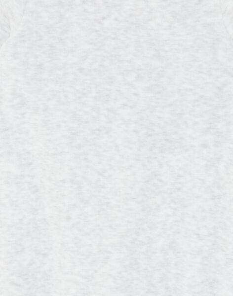 Grey romper baby boy ZEBOBBIE / 21E5BG17GREJ920