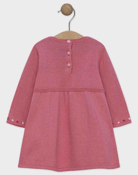 Baby rose Dress SANINI / 19H1BFE2ROB307