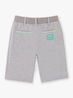 Grey Bermuda shorts boy ZEMAGE / 21E3PGO2BERJ904