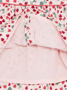 Pale rose DRESS ZAAURELIE / 21E1BFM1ROB301