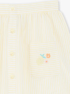 Yellow SKIRT ZIJUPETTE / 21E2PFO1JUPB104