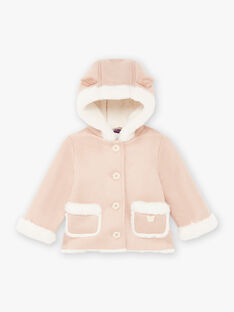 Baby Girl's Beige Faux Fur Coat BININON / 21H1BFC1MAN080