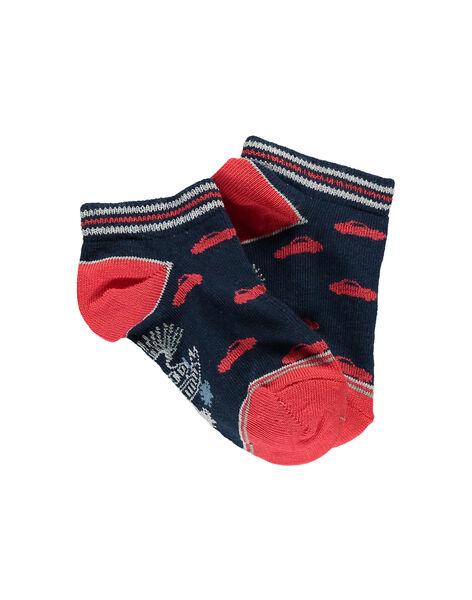 Dark green Low socks ROSOCAGE / 19E4PGH1SOB616