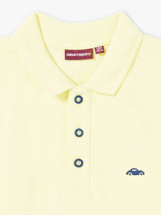 Yellow POLO SHIRT ZYPOLAGE5 / 21E3PGW4POLB113