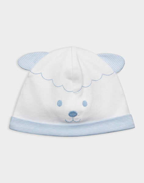 Off white Newborn cap RYARNOLD / 19E0AG12BNA001