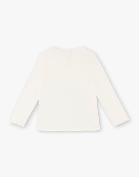 T-shirt long sleeves child girl ZETETTE 2 / 21E2PFB1TML632