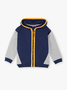 Navy blue jogging jacket ZECLAGE2 / 21E3PGK1JGH070
